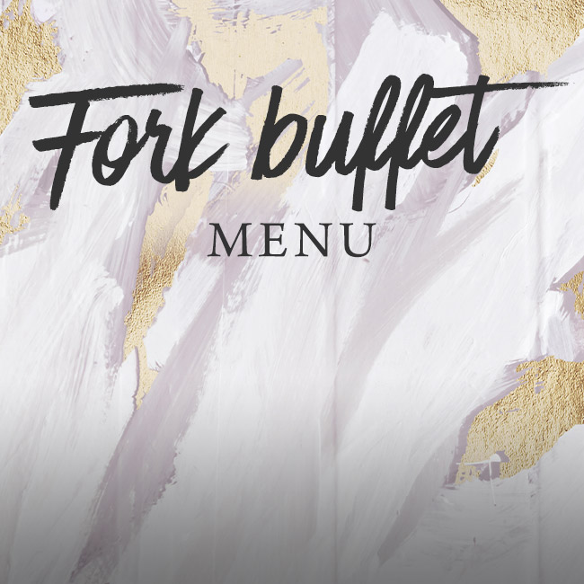Fork buffet menu at The Red Lion